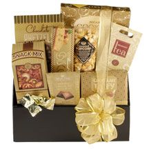 Whether it's Christmas time, a birthday, Easter time, thank-you time or some kind of presentation, unique corporate gift ideas can be given with assurance. Corporate Gift Baskets, Corporate Gifts, Feel Better Gifts, Different Types Of Tea, Tea Snacks, Gift Of Time, Business Gifts, Customized Gifts, Fudge