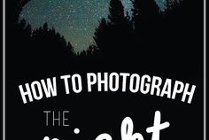 How to Photograph th