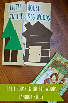 Little House in the Big Woods Printable Lapbook Pages | LittleHouseLiving.com | Create this printable Lapbook project with your little ones to go along with the Little House in the Big Woods book!