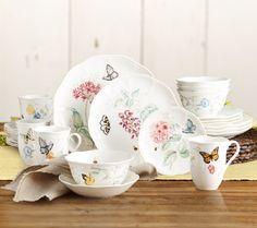 Lenox Butterfly Meadow 24-pc. Porcelain Dinnerware Set