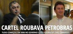 Cartel Montado Pelo Pt Roubava Petrobras! Tudo ComeçOu No Governo Lula. Revelam Os Delatores.
