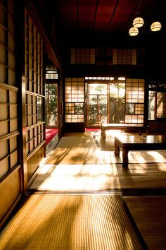 Reminds me of my Grandmother's home in Japan. I'm designing our retirement home with some ideas from her home.