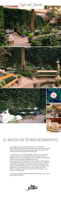 Café del Jardín. El salón de té más romántico. Madrid. The Great Escape · News · 014 #topsecretmadrid #topsecretstores
