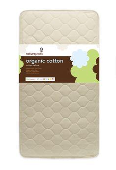 Naturepedic Organic Cotton Quilted Deluxe 252 Crib Mattress