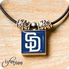 San Diego Padres LifeTiles Necklace
