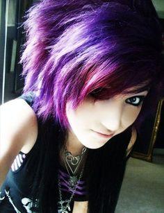 Emo hairstyles short hair