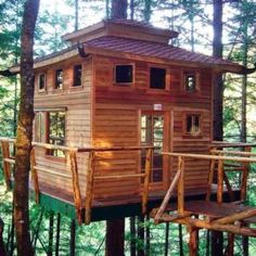 Tree House – Building Tips I wanted one of these so bad as a kid! Tree House – Building Tips I wanted one of these so bad as a kid! Home Building Tips, Building A House, Kids Building, Build House, Building A Treehouse, Treehouse Ideas, Backyard Treehouse, Treehouse Cabins, Backyard Gazebo