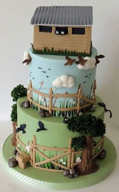 Hunter groom's cake