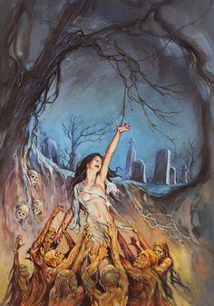 StuffNThings - Horror pulp art by Fritz Askin