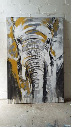 Großartig Kunstdruck Elefant # 2 Einer der Big Five Great Art Print Elephant # 2 One of the Big Five # an print