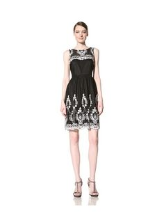 Muse Women's Dress with Floral Embroidery - $79