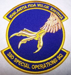 US Air Force 33rd Special Operations Squad Patch (Full Color)
