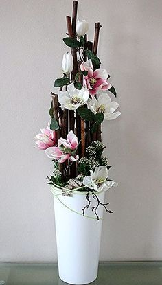 Pin for Easter - Pin for Easter Informations About Pin na wielkanoc Pin You can easily use my profi - Large Flower Arrangements, Flower Vases, Flower Pots, Flower Decorations, Wedding Decorations, Christmas Decorations, Ikebana, Silk Flowers, Dried Flowers