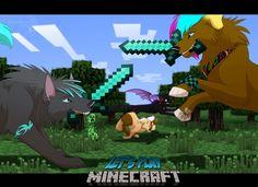 Minecraft Brawl_Diamond Sword_Furries- I wish guys... I wish...