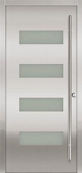 Milano Stainless Steel Single Door