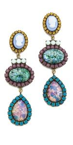 If only I had a few thousand dollars I'd buy every pair of DANNIJO earrings.