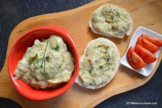 Salata de vinete reteta simpla de post - fara maioneza   Savori Urbane Guacamole, Mashed Potatoes, Mexican, Vegetarian, Cooking, Ethnic Recipes, Food, Salads, Food Food