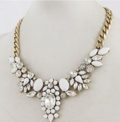 Cheap necklace cloth, Buy Quality necklace canada directly from China necklace silver Suppliers:free shipping New fashion 2014 Fashion Brand colorful Crystal Flower Statement Chokers Necklaces & pendants for girls