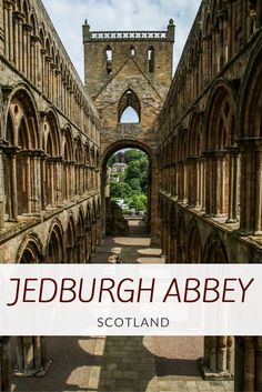 Jedburgh Abbey is one of the most impressive religious buildings in Scotland. Have a look at those 3 levels of arches. Impressive from every angle, isn't it? Video, photos and planning info at: http://www.zigzagonearth.com/jedburgh-abbey-scotland/
