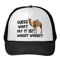 069f1a7edcba4 Hump Day Camel Trucker Hat Funny Hats