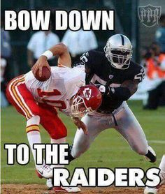 Bow down to the Raiders