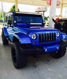 Jeep Wrangler Off Road Competition Auto Jeep, Jeep Truck, Jeep Jeep, Jeep Wrangler Off Road, Jeep Rubicon, Jeep Wrangler Unlimited, Jeep Wranglers, Blue Jeep Wrangler, Custom Jeep