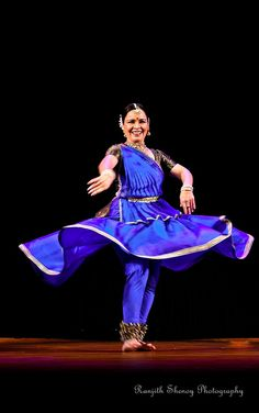 Kathak by Malti Shyam by Ranjith Shenoy, via Flickr
