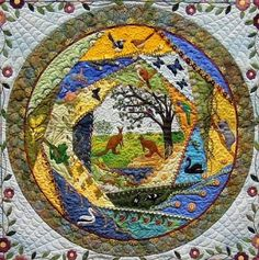I ❤ crazy quilting & embroidery . . . Naturally Crazy ~By Linda Steele