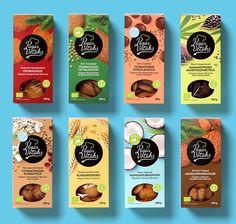 All Time Best Product Packaging Design Ideas for Designers - Joghurt rezepte Organic Packaging, Fruit Packaging, Cake Packaging, Food Packaging Design, Coffee Packaging, Packaging Design Inspiration, Brand Packaging, Bottle Packaging, Product Packaging Design