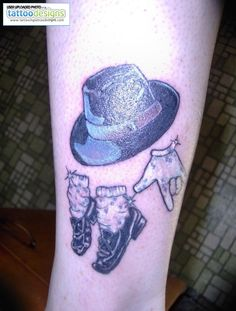 Tribute To Michael Jackson Tattoo Image