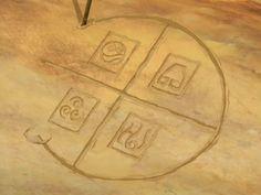 Avatar the last Airbender element symbols