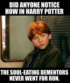 Gingers don't have souls.....