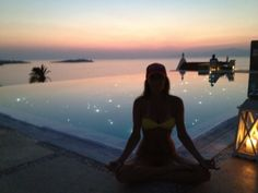 MOJO Meditating in the Mediterranean!  Mykonos, Greece baby!  Visualize with all of your senses! See it, smell it, hear it, taste it, touch it, feel it until it has no choice but become your reality! www.goalfriend.com