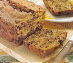Cake raisin sec chocolat