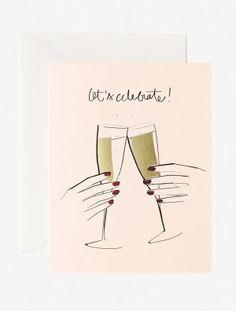 Let's Celebrate Card -