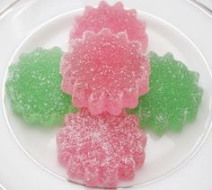 All sorts of possibilities with these homemade gumdrops.