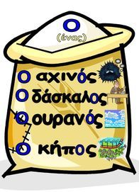 Αρσενικά ουσιαστικά Primary School, Elementary Schools, Greek Writing, Learn Greek, Greek Language, Classroom Organisation, Special Needs Kids, School Pictures, English Words
