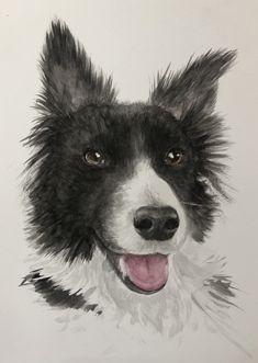 A recent pet portrait commission Oil Painting On Canvas, Watercolor Paintings, Original Paintings, Ballet Art, Love Your Pet, Dog Portraits, Fine Art Prints, Photo Galleries, Horses
