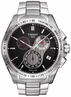 Tissot Veloci-t Mens Watch T024.417.11.051.00 Tissot. $458.00. Chronograph Display. luminous. Water Resistant up to 100 m. Water Resistance : 10 ATM / 100 meters / 330 feet. second-hand. Save 32%!