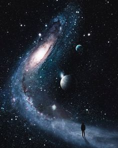 Imaginary Worlds Brought to Life With Unexpected Photo Combinations Surreale digitale Kunst durch Justin Peters Planets Wallpaper, Wallpaper Space, Galaxy Wallpaper, Galaxy Space, Galaxy Art, Art Galaxie, Justin Peters, Space Artwork, Space In Art