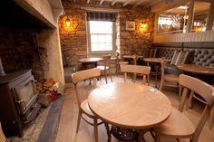 Hotel Bar Wynding Inn | Lord Crewe Hotel interior design by Ward Robinson | Northumberland Bamburgh