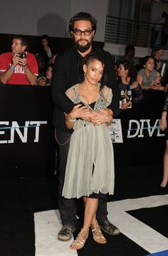 Celebrity Gossip & News   16 Times Jason Momoa and Lisa Bonet's Relationship Was Almost Too Cute to Handle   POPSUGAR Celebrity UK Photo 2