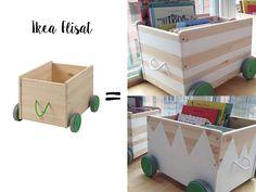 IKEA Flisat hack for toy storage #ikea #ikeahacks #toystorage #diy