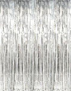 Metallic Silver Foil Fringe Curtains (1 pc) Rhode Island Novelty http://www.amazon.com/dp/B004N5BKC0/ref=cm_sw_r_pi_dp_xIhlvb195E29N