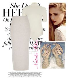 """Nudist"" by natalie-bleu on Polyvore featuring River Island"