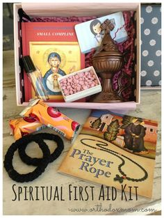spiritual first aid kit.  this would make a great house blessing gift!  :)
