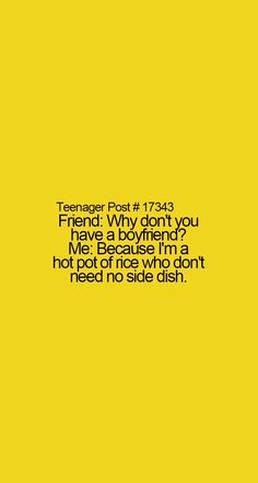 Hahaha that and boys can be such jerks sometimes and cute at others