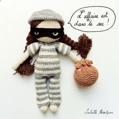 crochet dolls  -  Isabelle Kessedjian -> so in love with her work. genious.