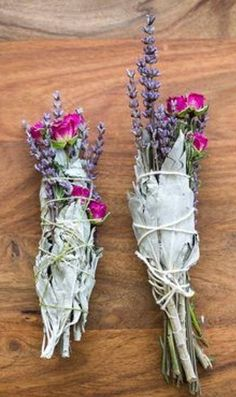 Herbs/floral smudge stick