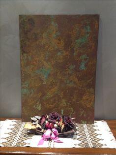 Verso nuovi effetti metallici... Sandri Fulvio  Pitture Tradizionali ed Innovative www.sandrifulvio.it +39 3356293302